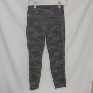 Lucky Brand Sophia Skinny Camo Jeans Size 8/29